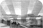 Aurora observations,1849
