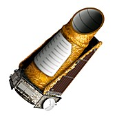Kepler Mission space telescope,artwork