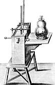 17th Century science experiment,artwork