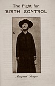 Margaret Sanger,US birth control pioneer