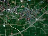 Inakadate,Japan,satellite image