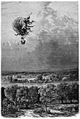 Neptune balloon accident,1878