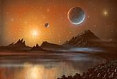 Globular cluster,artwork