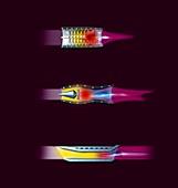 Jet engines,artwork