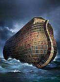 Literary ark,conceptual artwork