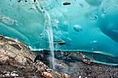 Glacial cave,Switzerland