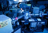 Accelerator mass spectrometry research