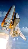 Space Shuttle Atlantis launching,2008