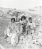 Lepers,Middle East,early 20th century
