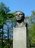 Soviet monument to Yuri Gagarin