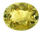 Chrysoberyl yellow beryllium gemstone