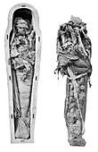 Ramases VI mummy,Egypt