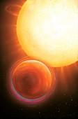 HD 15082 b exoplanet,artwork