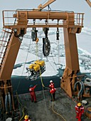 Arctic oceanography research