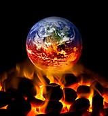 Climate change,conceptual image