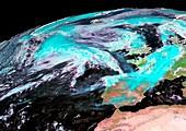 Extratropical storm Katia,2011