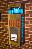 Police emergency telephone in Illinois