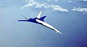 Icon-II future aircraft,artwork