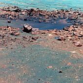 Concepcion crater,Mars