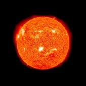 Solar flare,February 2011,SDO image