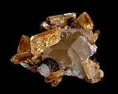 Baryte mineral specimen