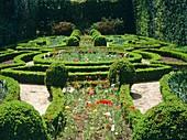 Formal garden,Portugal
