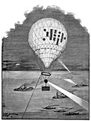 Maritime night signalling,19th century
