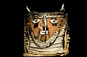 Funerary bundle head,Chancay Imperial