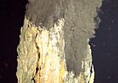 Underwater volcanic vent