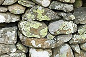 Dry stone wall,Borrowdale Cumbria
