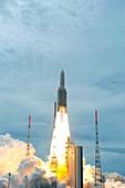 Ariane 5 rocket launch