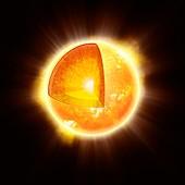 Solar structure,artwork