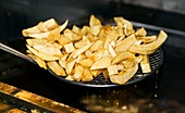 Fried potato chips