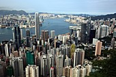 Hong Kong city and harbour