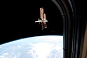 ISS from Atlantis,2011