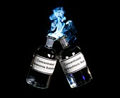 Ammonium chloride formation