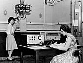 Radiosonde calibration,1962