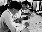 Met Office forecasting,1962