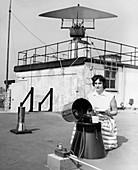 London Weather Centre rain gauge,1959
