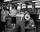 Met Office computer room,1965
