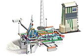 ELS launch pad,Guiana Space Centre