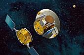 Mars Sample Return separation,artwork