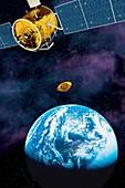 Mars Sample Return capsule,artwork