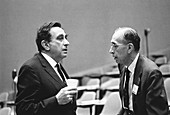 Teller and Breit,US physicists