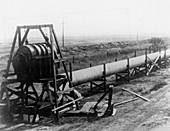 Large-scale Michelson interferometer