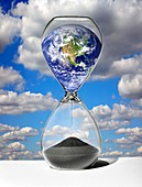 Time running out for the Earth,artwork