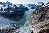 Glacial landscape,Alaska