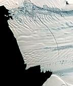 Pine Island Glacier,Antarctica,2011