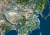 China,satellite image