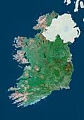 Ireland,satellite image